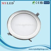 Лучшая цена Белый цвет / Нержавеющая сталь 8inch 18w Утопленный светодиодный свет Потолочное освещение для дома
