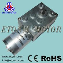 motor resistente 12v 24v do rotisserie do BBQ do motor da engrenagem de sem-fim da CC