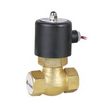 Nos (2L) 2 vias vapor solenoide válvula de bronze