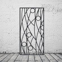 Laser Cut Metal Decorative Wall Art Panel