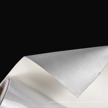 vente haute lumière 1.0mm PU tissu en cuir réfléchissant pour chaussures pour la mode