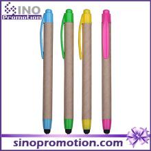 Eco-Friend Klick Kugelschreiber mit Gummi-Tipp
