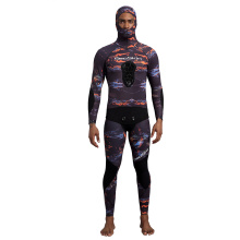 Seaskin Two Piece Fullsuit Freediving Wet Suits Men