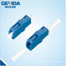 Adaptateur optique à fibre optique LC Simplex Sm