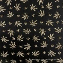 Tissu de vêtement de style feuille d'érable à imprimé bengale rayonne