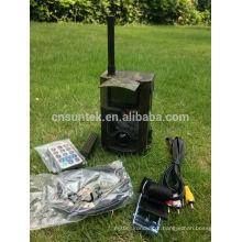 Câmeras GPRS do jogo de caça do vídeo 3G de 12mp 1080P HD com controlo a distância de SMS