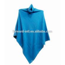 señoras tejidas 100% abrigo de cachemira de Mongolia, suéter de abrigo de cachemira