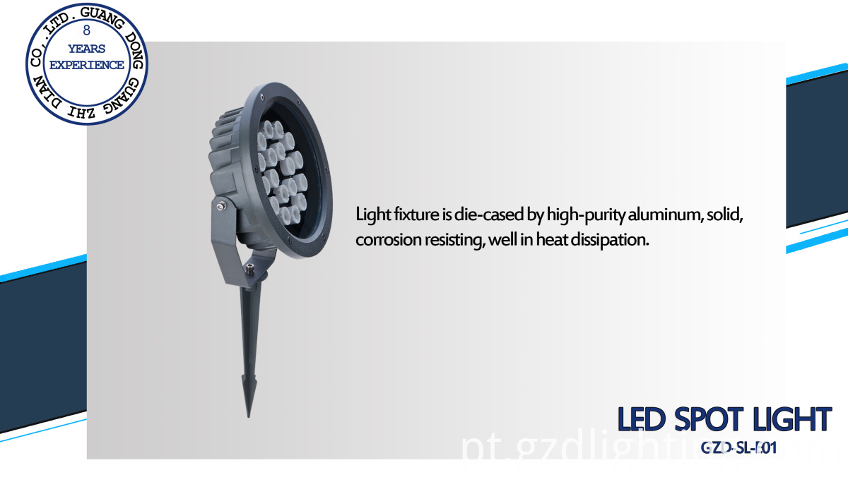 IP65 outdoor led spike light