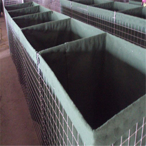 Hesco barrier mil