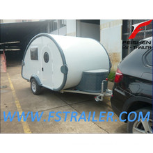 Tear drop camper trailer