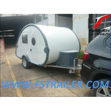 Tear drop camper trailer