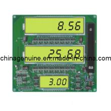 Zcheng Dispensador de Combustível Venda Litro Preços Display LED Board
