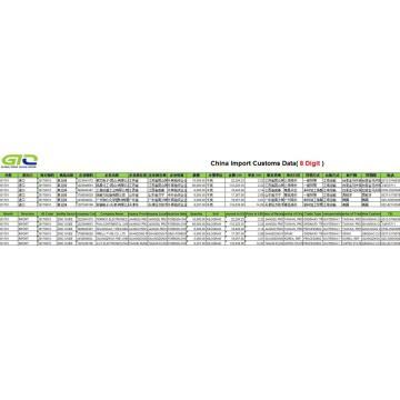 Chinese Zinc Oxide Import Data