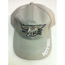 Military Baseball Cap with Embroidery