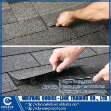 roof material colorful asphalt shingle