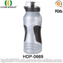 Botella de agua corriente plástica libre de moda 2017 de BPA, botella de agua plástica del deporte del PE (HDP-0669)