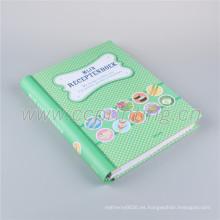 Cuaderno de diario de bolsillo de impresión de diseño personalizado