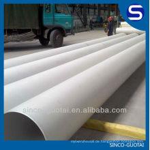 304 316LSmls-Edelstahl-Rohr / Rohr für Öl-Gas