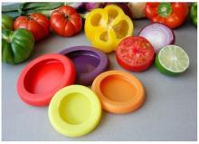 खाद्य Huggers सिलिकॉन सब्जियां फल कंटेनर लपेटें