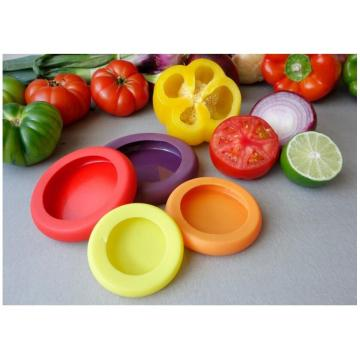 Food Huggers Silicone Vegetable Fruit Wrap Container