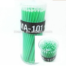 100 Pcs Small Disposable Eyelash Extension Micro Brush Applicators,Micro Brushes Disposable Swab