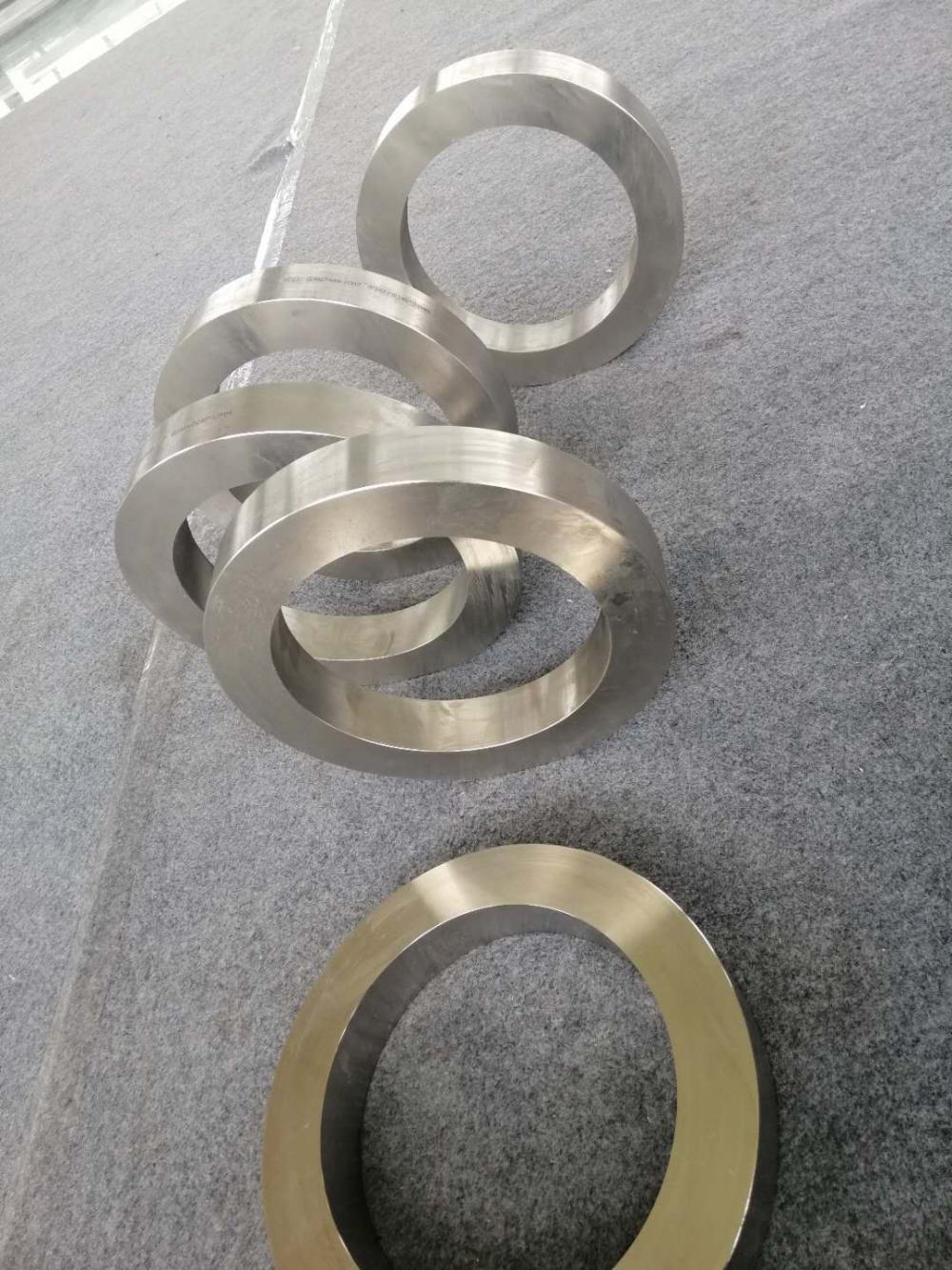 Grade 12 Forged Titanium Ring Custome