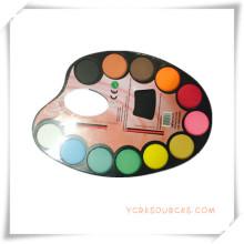 Pintura promocional sólido-seco colorido aquarela conjunto de presente da promoção (oi33006)