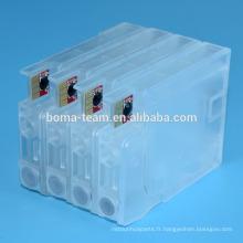 ABS clear Recharge cartouche d'encre ciss avec sac d'encre pour imprimantes HP 8100 8600 8610 8620