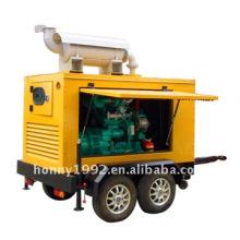 Groupe électrogène diesel de remorque 16KW / 20KVA