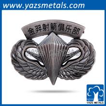 Hot selling custom hollow out lapel pins,mens lapel pins