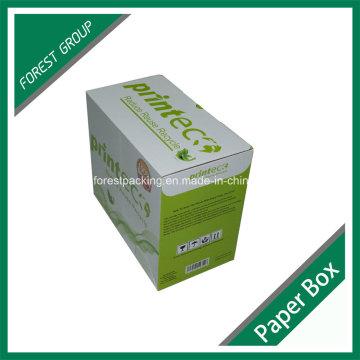 Caja de cartón ondulado de impresión personalizada para el embalaje de tóner