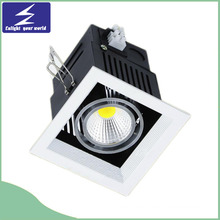 1*10W Venture 85-265V LED Grille Light