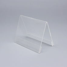 Présentoir en plexiglas transparent