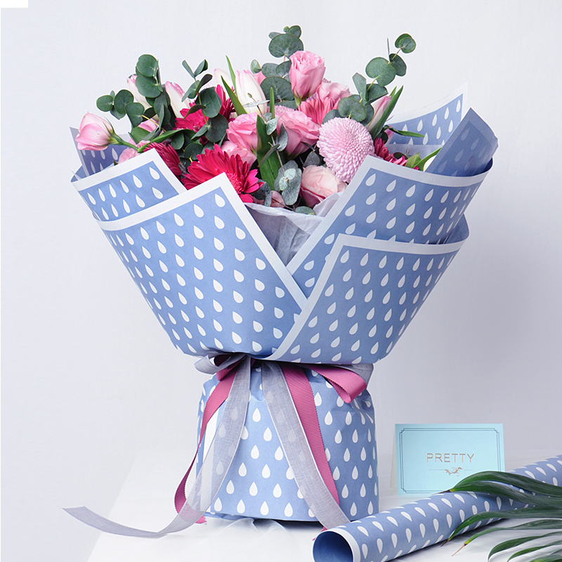 Flower Wrapping Paper 3