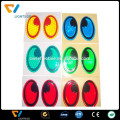 colorful fashionable 5d home decor PVC wall / truck car decoration reflective sticker