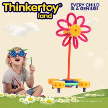 Многоцветный инструмент для обучения детей.