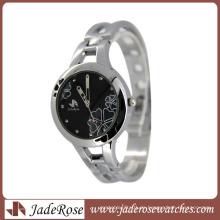 Großhandelslegierungs-Uhr-Mode-große Vorwahlknopf-Uhr