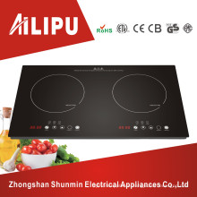Multifunctional with Touch Screen Double Burner Induction Cooktop