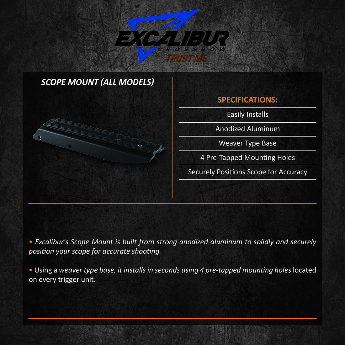 Excalibur_Scope_Mount_AllModels_Product_Description