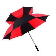 60inch Extra Double Layer Unique Logo Customized Large Golf Umbrella