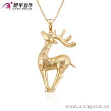 32513 Xuping característico animal colgante de joyería de moda de oro hecho en China al por mayor