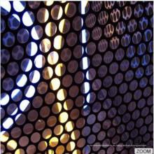 Panel de metal perforado de aluminio