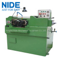Shaft thread rolling machine shaft making machine
