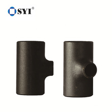 A234 WPB Carbon Steel Seamless Butt Weld Equal Tee Straight Pipe Fitting