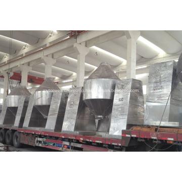 Metal powder vacuum rotary dryer