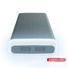 Venda quente de alta qualidade verdadeiro grande capacidade de 16000 mAh banco de potência com luz LED