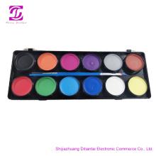 Professional face paint kit wholesale factory body art
