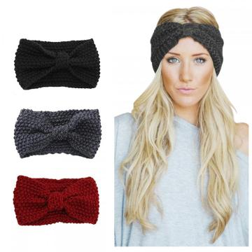 Frauen Stirnbänder Elastic Head Wrap