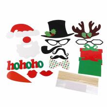 FQ marca barba aniversário festa natal engraçado máscara