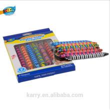 jeu de crayon magique économique à la mode chaud-vente pour le crayon de double couleur de double d'enfant / double